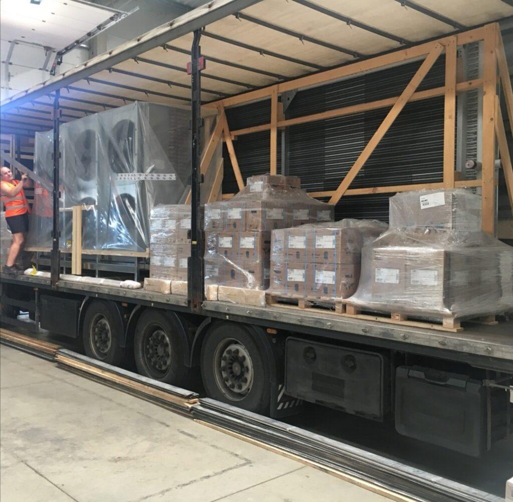 Groupage cargo transportation